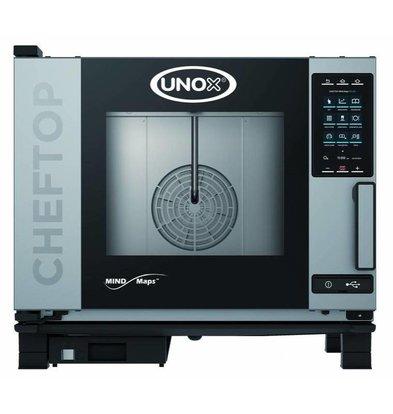 Unox Combisteamer Plus Four Combi Électrique | XEVC-0511-EPR 5 x GN 1/1 | 400V | 750x773x675(h)mm