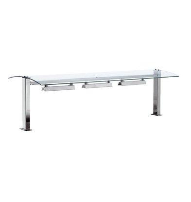 Combisteel Pont de verre| Chauffant |  2x GN1 / 1 | Drop-In | 844x540x(h)437mm