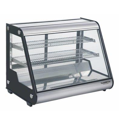 Combisteel Vitrine Réfrigérée | Modèle de Table | 160 Litres | 875X578X(h)678mm
