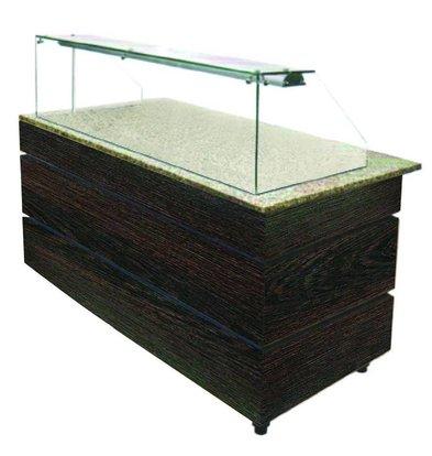 Combisteel Buffet Neutre | Poids 115 kg | 1570x800x(h)1355mm