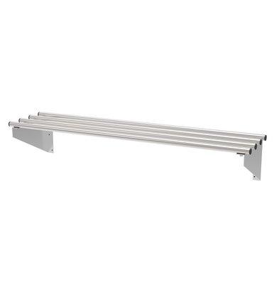 Combisteel Étagère Murales | Tubulaire | en Inox | 600X300X(h)225mm | Disponible en Plusieurs Tailles