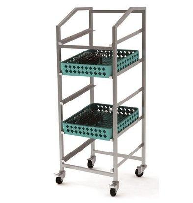 Combisteel Trolley Pour Paniers | de Lavage | 550x510x(h)1520mm