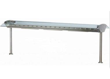 Pont en Verre/Inox avec Éclairage