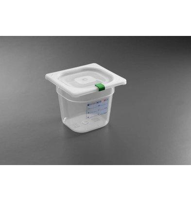 Hendi Set Boîtes de Stockage   GN 1/6   65 mm   Polypropylène   Fermeture Hermétique