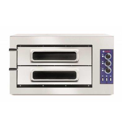 Hendi Four à Pizza Basic 2/50 | 400V | 7500W | 915x621x(h)527mm