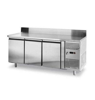 Hendi Comptoir Réfrigéré avec Rebord   3 Portes   1795x700x(h)850mm