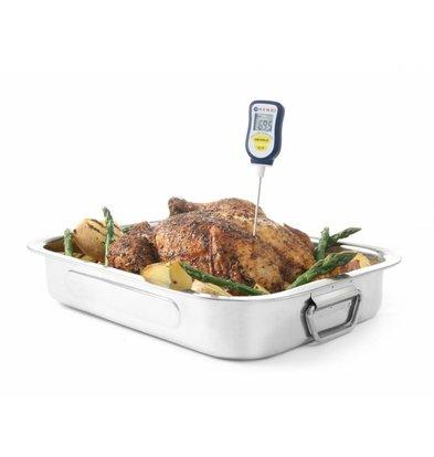 Hendi Thermomètre Digital avec Sonde   Waterproof   Température de 50°C à 350°C