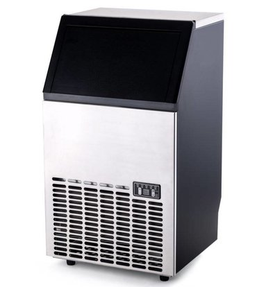 Hendi Machine à Glaçons | 35 kg/24 h | Réserve de 15kg | Injection à Refroidissement par Air | Glaçons Carrés