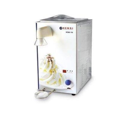 Hendi Machine à Chantilly | Inox | 100 kg/h |2 Cuves de 6 et 9 Litres | 295x520x(h)520mm