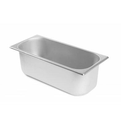 Hendi Bac à Glace | Kitchen Line | 5 Litres | 360x165x120(h)mm