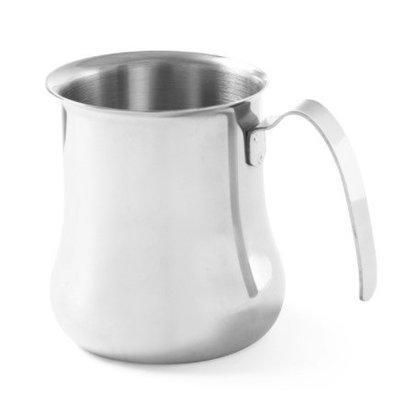 Hendi Pot à Lait Cappuccino | Inox | Disponible en 2 Tailles