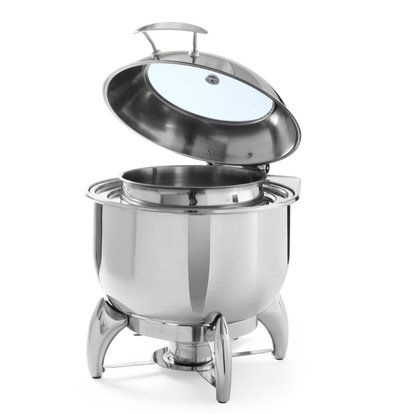 Hendi Chafing Dish pour Soupe   Rond   11 Litres   405x480x(h)460mm