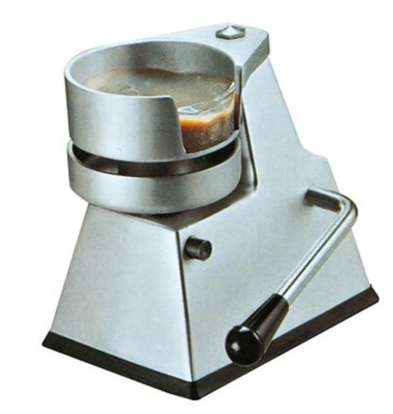 MEC Presse Hamburger | Convient pour Ø130mm | 270x320x (H) 310mm