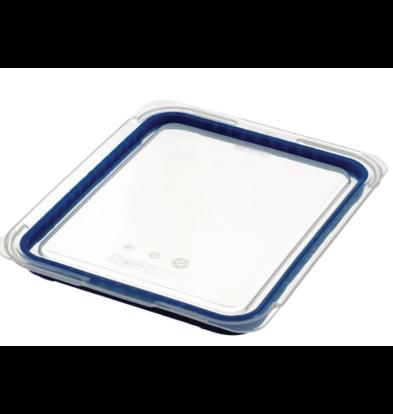 CHRselect Couvercle bleu | Araven | ABS sans BPA | GN 1/2 | 265x325mm |  Compatible avec : GP586, GP585, GP584, GP5863
