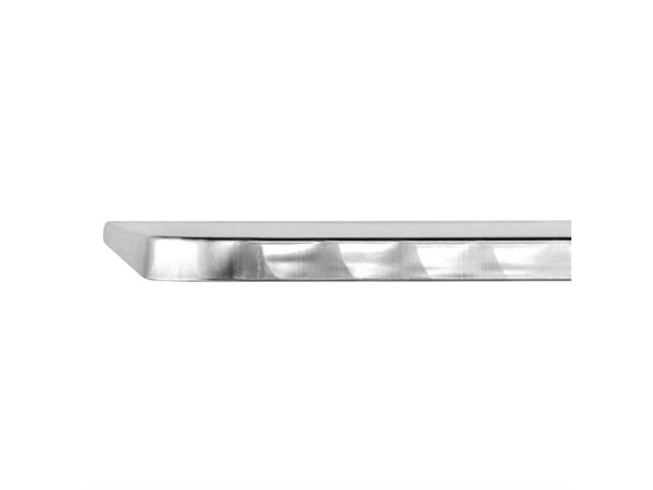 CHRselect Table Carrée | Plateau Basculant Inox | Pied Aluminium | 600x600x720(h)mm