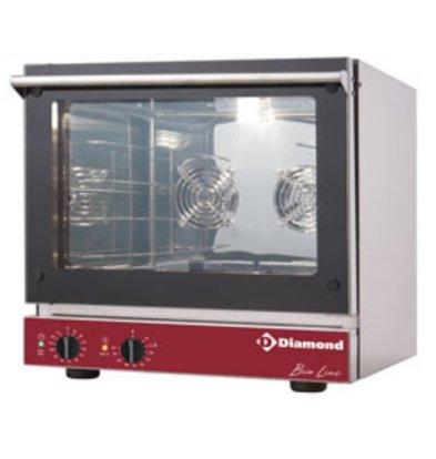 Diamond Four Electrique à Convection | 4x 460x340 mm | 585x605x(h)570mm