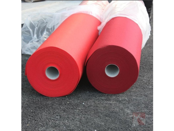 CHRselect Tapis Rouge sans Film Protecteur | 1 Mètre de Large | Disponible en 3 Longueurs