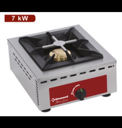 Diamond Cuisinière à Gaz | Modèle de Table | 7 kW | 370x510x (H) 195mm