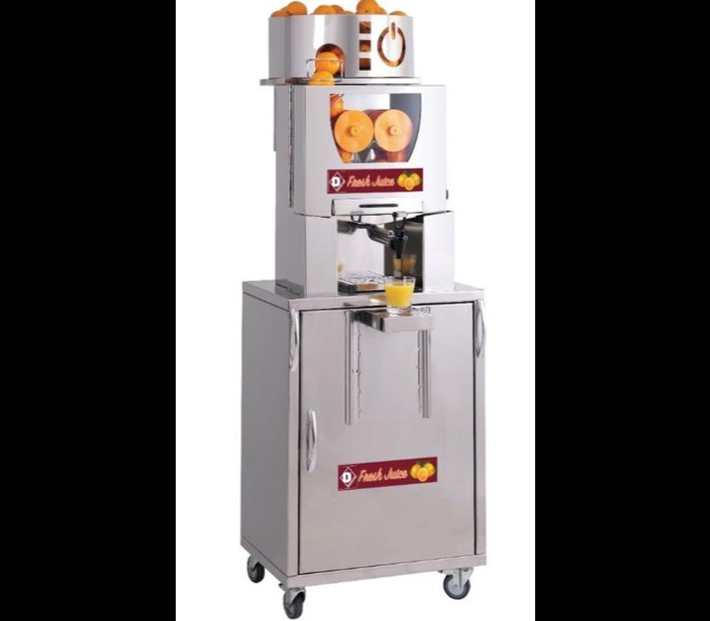 Diamond Presse-Agrumes | Automatique | Self Service | 20/25 Oranges (diamètre maximum 80 mm) à la Minute