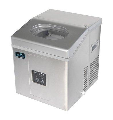 CaterCool Machine à Glaçons 15kg / jour - Glaçons Transparents à Cavité - 3 Tailles Ajustables