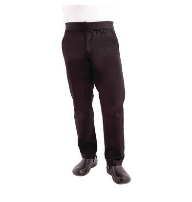 Chef Works Urban Pantalon Slim Léger | Chef Works | Homme | Noir | Disponible en 5 Tailles