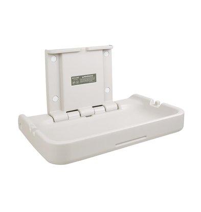 Bolero Table à Langer | Horizontale | Capacité jusqu'à 11kg | 840x120x(H)550mm