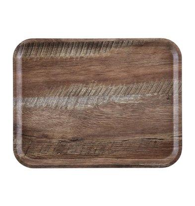 Cambro Plateau Stratifié   Surface Grainée   Madeira Cambro   Chêne Foncé   Disponible en 2 Tailles