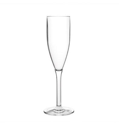 Kristallon Verre à Champagne | Polycarbonate | 21cl | Lot de 12 Pièces