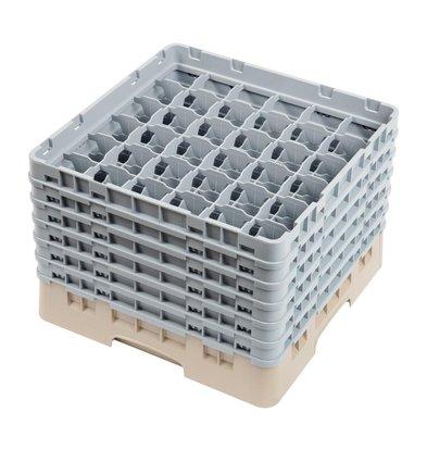 XXLselect Casier de Lavage | Verres | 36 Compartiments | Hauteur Maximale 298mm