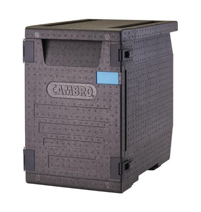 Cambro Conteneur EPP   Chargement Frontal   85 Litres   4x GN 1/1 100mm