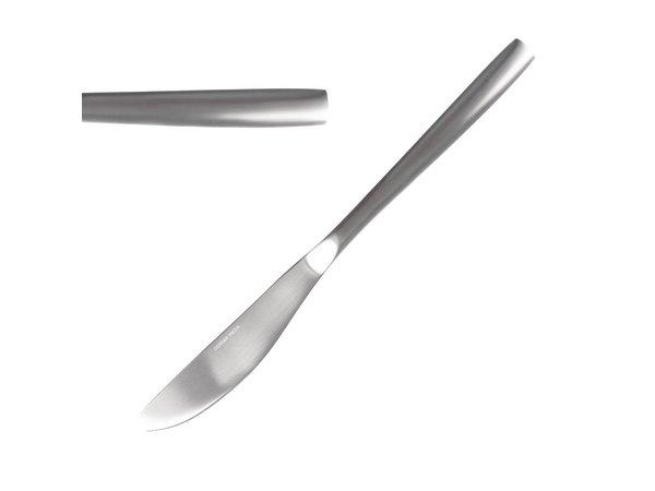 Comas Couteaux de Table | Satin Comas | Inox | 221mm | Lot de 12 Pièces