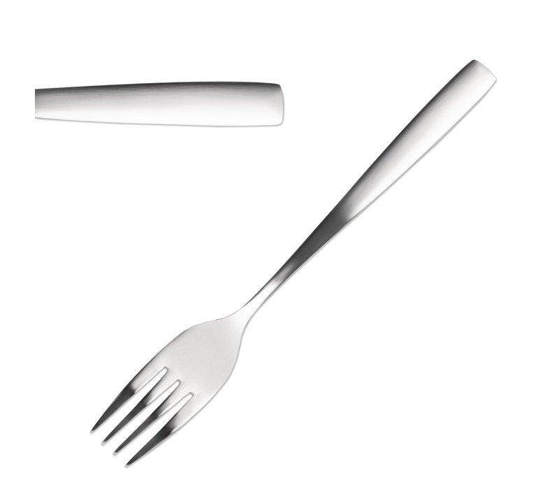 Comas Fourchettes de Table | Satin Comas | Inox | 200mm | Lot de 12 Pièces