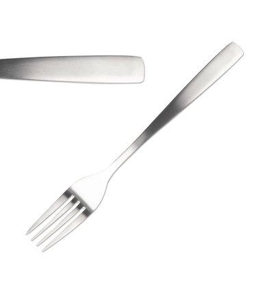 Comas Fourchettes à Dessert | Satin Comas | Inox | 183mm | Lot de 12 Pièces