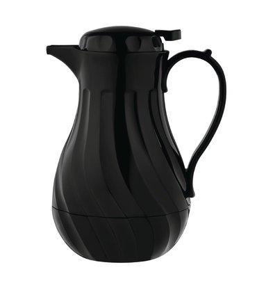 Olympia Pichet Isotherme | Torsadé | Noir | 2 Litres | Ø182x(H)284mm