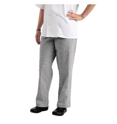 Whites Chefs Clothing Pantalon de Cuisine | Whites Easyfit | A Carreaux Blanc/Noir | Unisexe | Disponible en 6 Tailles