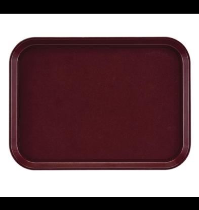 Cambro Plateau Rectangulaire   Antidérapant   Fibre de Verre   350x270mm   Disponible en 4 Couleurs
