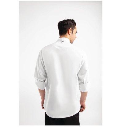 Chef Works Urban Veste Chef Légère | Hartford Chef Works Urban | Unisexe | à Fermeture | Manches Longues | Blanc | Disponible en 5 Tailles