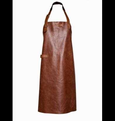 Xapron Tablier en cuir Cognac New York | Disponible en 4 tailles