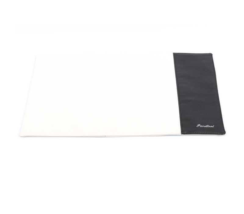 Pavelinni Set de Table Stripe | Cuir | Double Face | 300x450mm | Disponible en 10 Couleurs