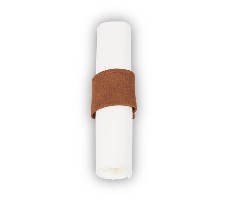 Pavelinni Rond à Serviette Vintage avec Velcro | Ø40-60mm | Disponible en 9 Couleurs | Lot de 10 Pièces