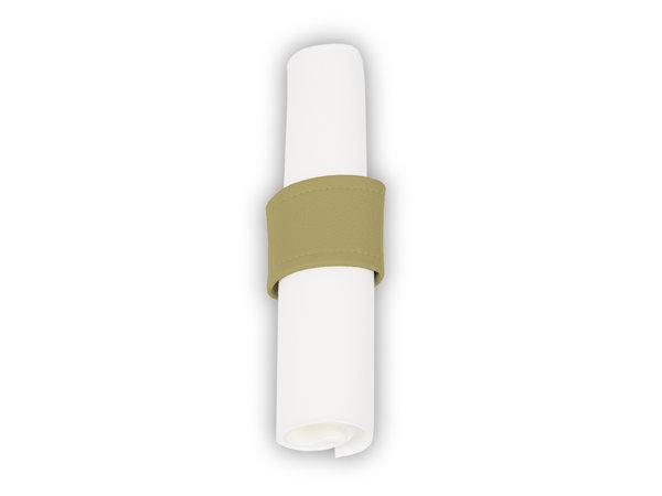 Pavelinni Rond à Serviette Vintage avec Velcro | Ø40-60mm | Disponible en 7 Couleurs | Lot de 10 Pièces
