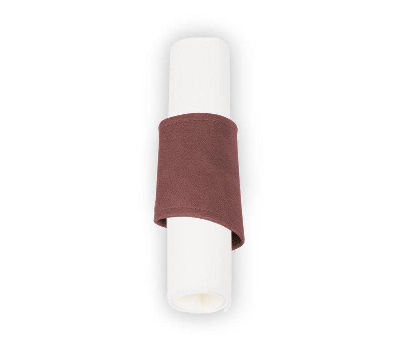 Pavelinni Rond à Serviette Stripe Vintage avec Velcro | Ø40-60mm | Disponible en 7 Couleurs | Lot de 10 Pièces