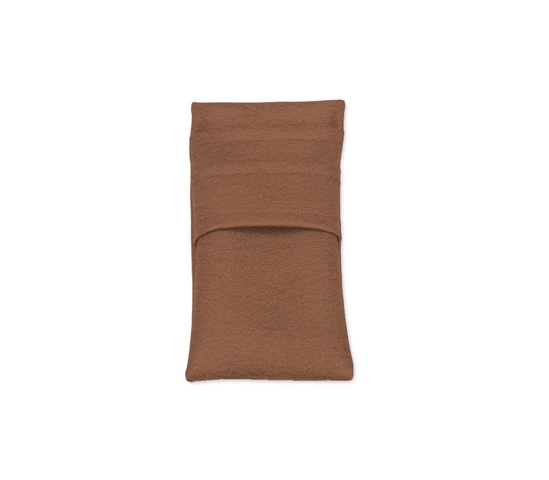Pavelinni Housse à Couverts Vintage Cuir Eco | 90x215mm | Disponible en 9 Couleurs | Lot de 10 Pièces