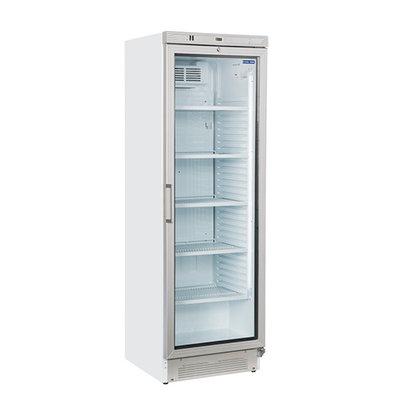 CHRselect Réfrigérateur Porte Vitrée   5 étagères   372 Litres   600x640x(h)1830mm