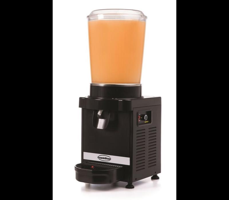 Combisteel Distributeur Rond de Boissons | 10 Litres | Pour toutes les Boissons Froides + 3 / + 10 ° C | 250x390x(H)700mm