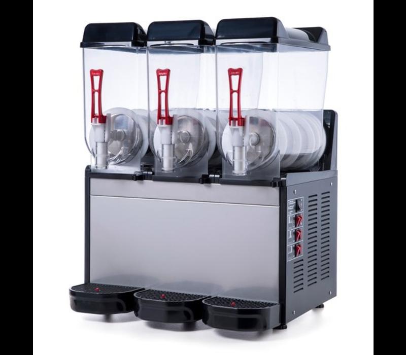 Combisteel Slush Puppy Machine   3x 12 Litres   590x530x(H)780mm