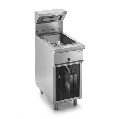 Saro Dispositif Maintien chaud 1/1GN | 1 kW | 400x700x(H)850/1170mm