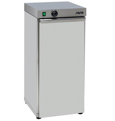 Saro Chauffe-Assiette | Capacité pour 60 assiettes | 0,75 kW | 400x460x (H) 870 mm