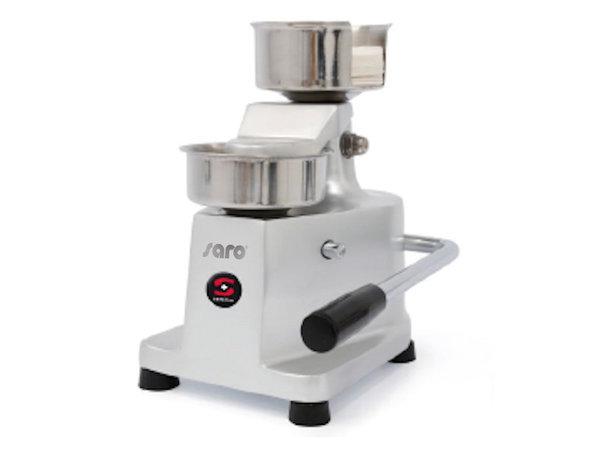 Saro Presse à hamburger manuelle| Convient pour  Ø100mm | 235x230x(H)275mm