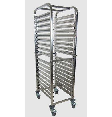 Saro Chariot Echelle | Convient pour 18x 2/1 GN | Max 150 kg | 590x670x (H) 1730mm